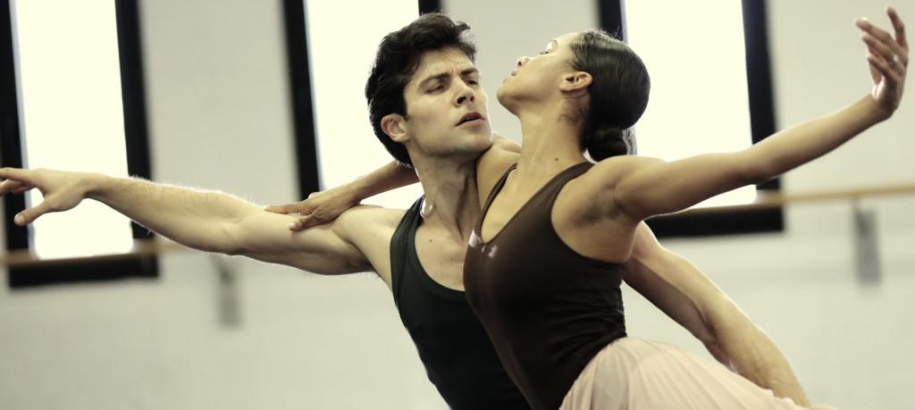 Misty Copeland e Roberto Bolle in prova - ph Brescia e Amisano - Teatro alla Scala K65A0622