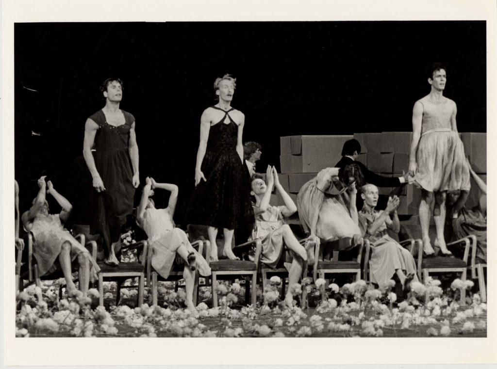 Nelken di Pina Bausch in un'immagine storica a La Fenice di Venezia